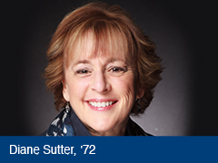 Photo of Diane Sutter, '72.