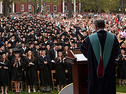 Photo of students at graduation. Link to Gifts That Pay You Income for Life